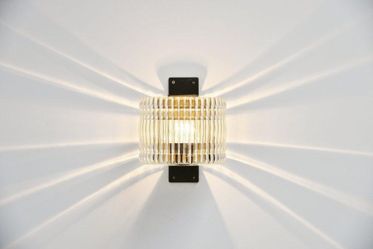 Luigi Caccia Dominioni Azucena wall lamp 1960