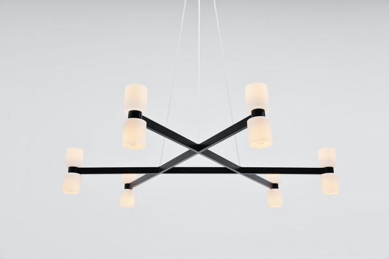 XXL Raak chandelier JW Bosman Holland 1965