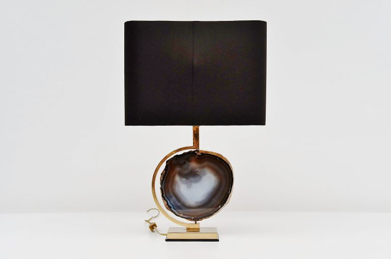 Willy Daro attributed table lamp Belgium 1970