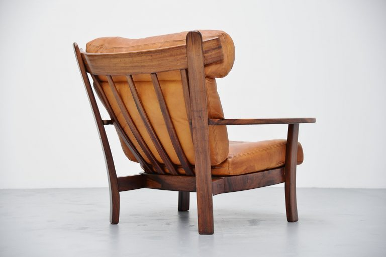 Sergio Rodrigues style Ox lounge chair Brazil 1960