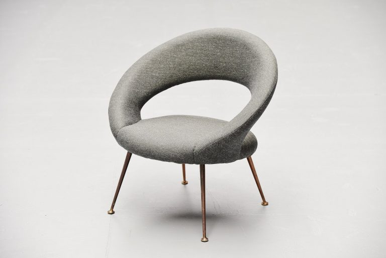 Gastone Rinaldi side chair for Rima Italy 1953