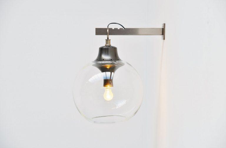 Luigi Caccia Dominioni Azucena Boccia wall lamp 1969