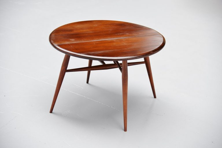 Luigi Ercolani folding side table Ercol UK 1960