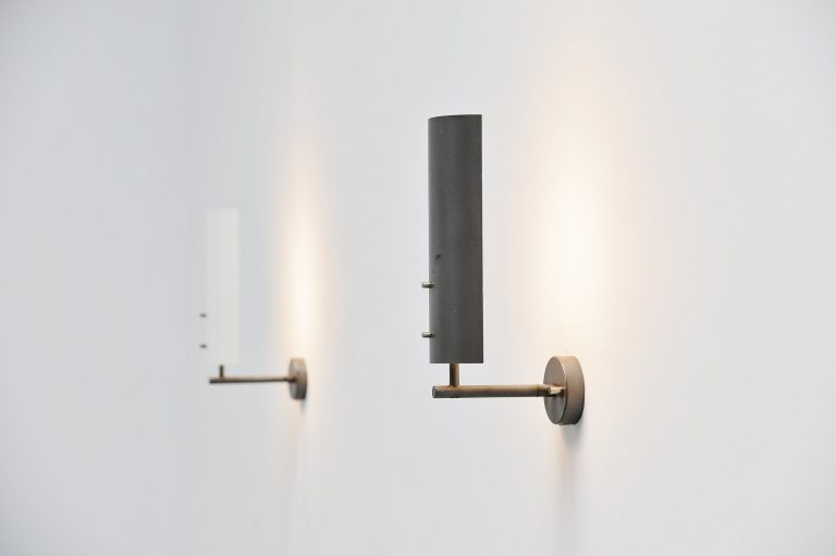 Anvia sconces by JJM Hoogervorst Holland 1955