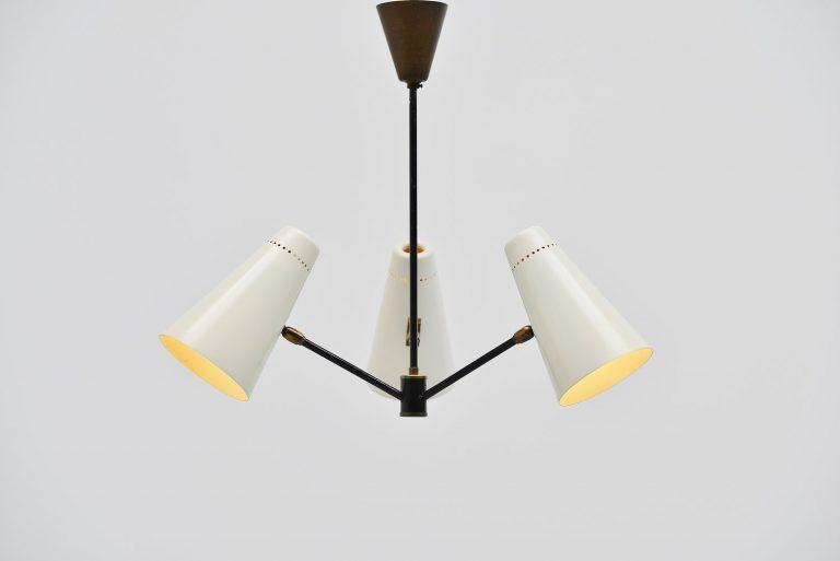 Fog & Morup ceiling lamp Denmark 1955