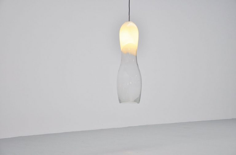 Gino Vistosi huge pendant lamp 1960