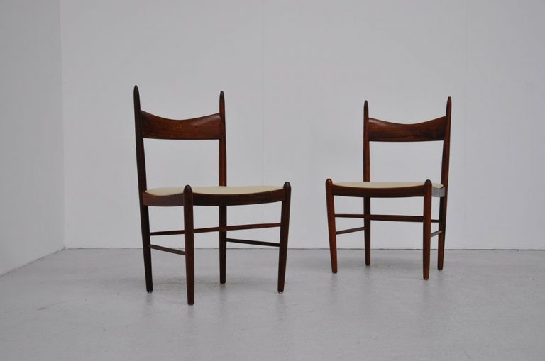 Axel Enthoven side chairs pair 1960