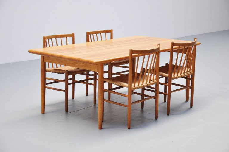 Niels Moller oak dining table Denmark