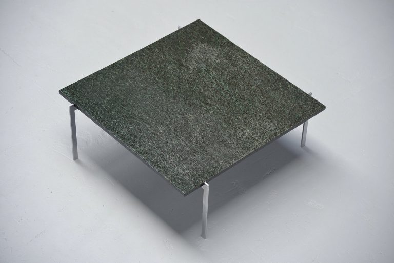 Poul Kjaerholm PK61 style coffee table Denmark 1970