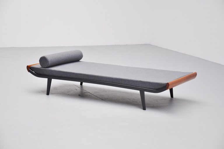 Dick Cordemeijer Cleopatra day bed with mattress Auping 1954