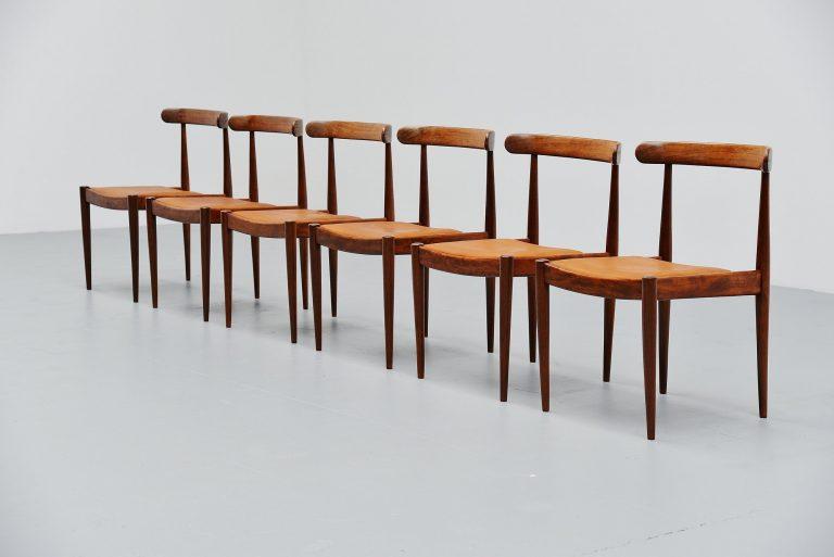 Alfred Hendrickx Belform dining chairs Belgium 1970