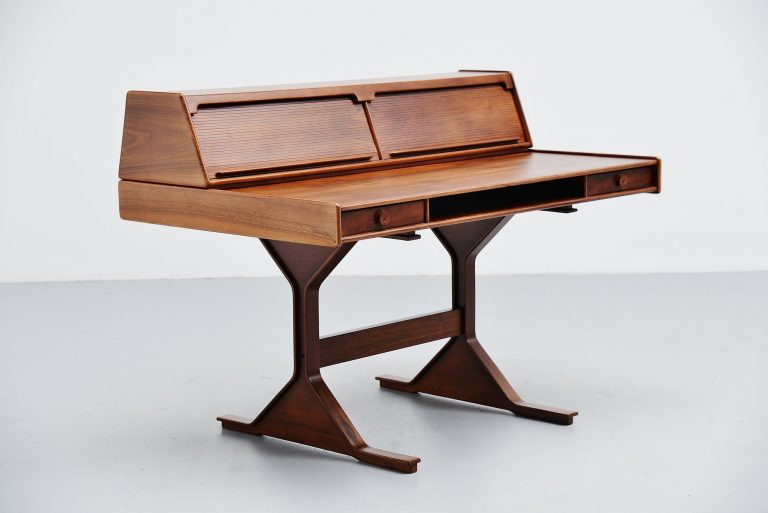 Gianfranco Frattini writing desk Bernini Italy 1957