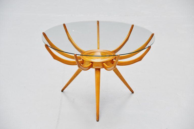 Carlo de Carli Ragno coffee table Italy 1950