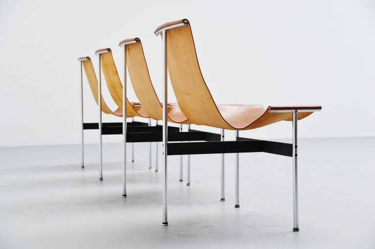 Katavolos, Kelley and Littell T-chairs ICF de Padova Italy 1952