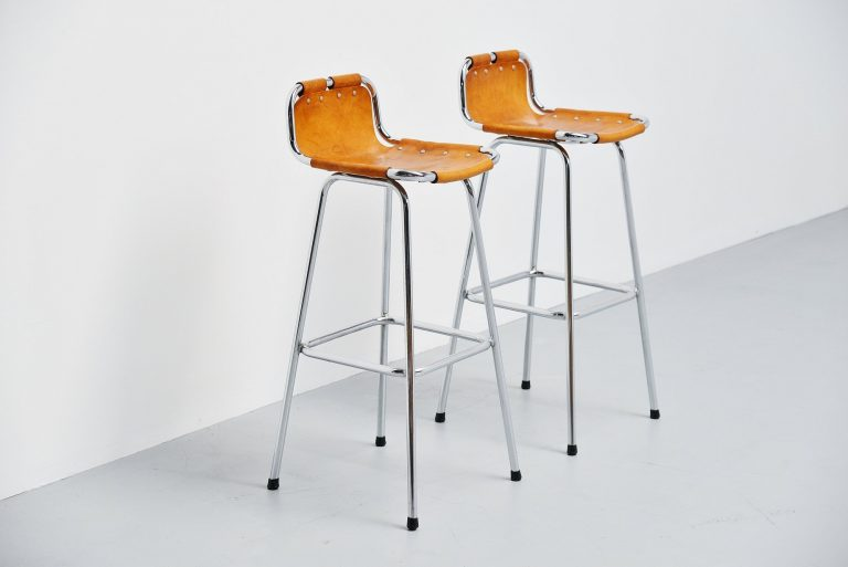 Charlotte Perriand Les Arcs bar stools France 1960