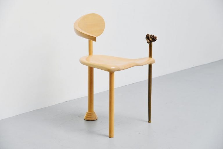Rob Thalen sculptural artwork chair Holland 1990