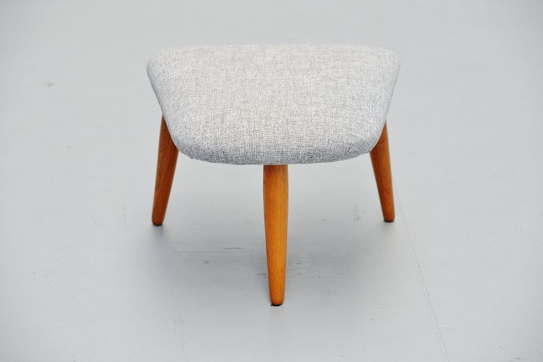 Nanna Ditzel nursing chair footstool Denmark 1956