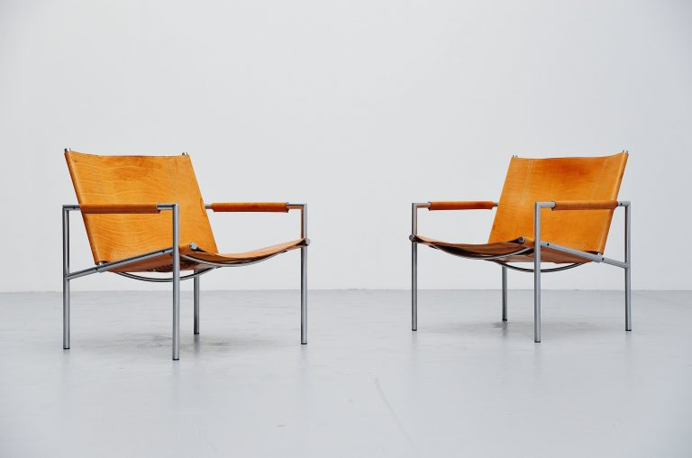 Martin Visser easy chairs SZ01 't Spectrum Holland 1965