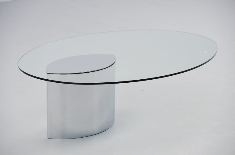 Cini Boeri Lunario coffee table Gavina Italy 1970