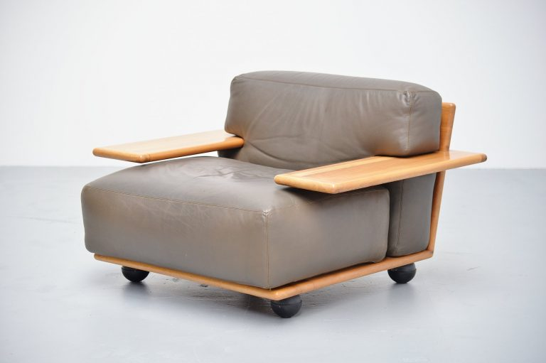 Mario Bellini Pianura lounge chair Cassina Italy 1971