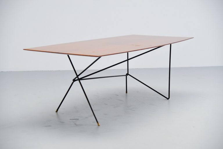 Daniele Calabi writing desk table Italy 1950