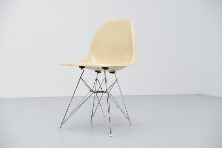 Charles Eames DSR Eiffel base chair Herman Miller 1957