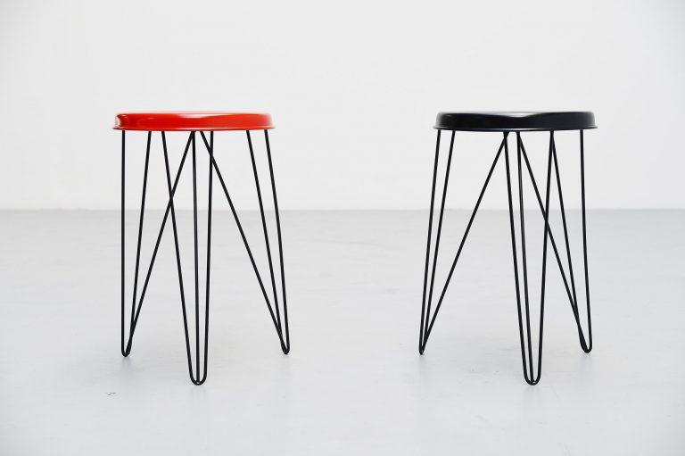 Tjerk Reijenga Pilastro stools Holland 1960