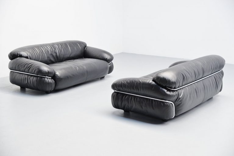 Gianfranco Frattini Sesann sofas Cassina Italy 1969
