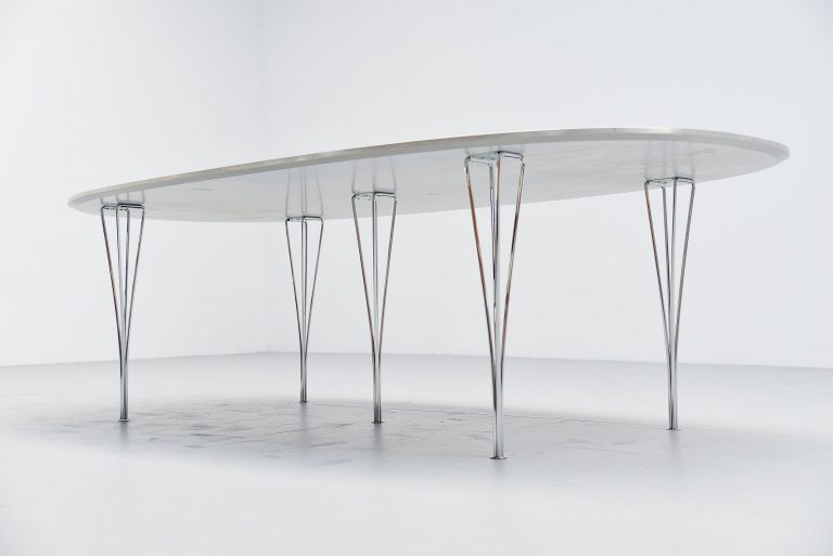 Piet Hein super Ellipse table Fritz Hansen 1996