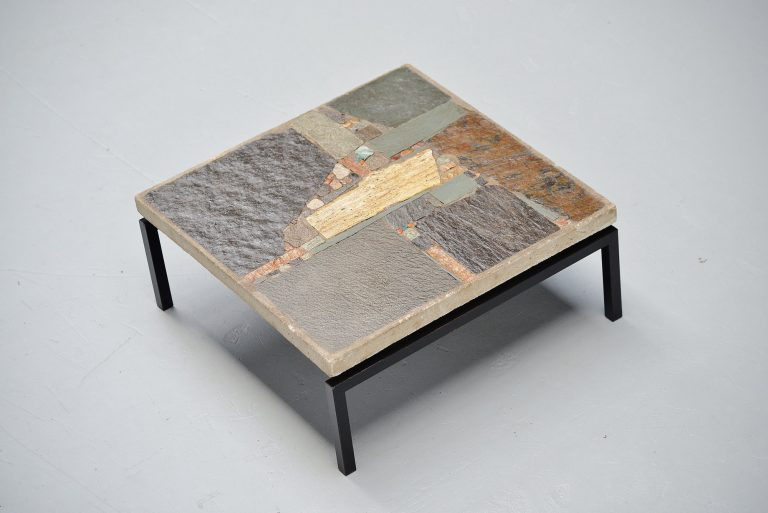 Rien Goene abstract artwork coffee table Holland 1959