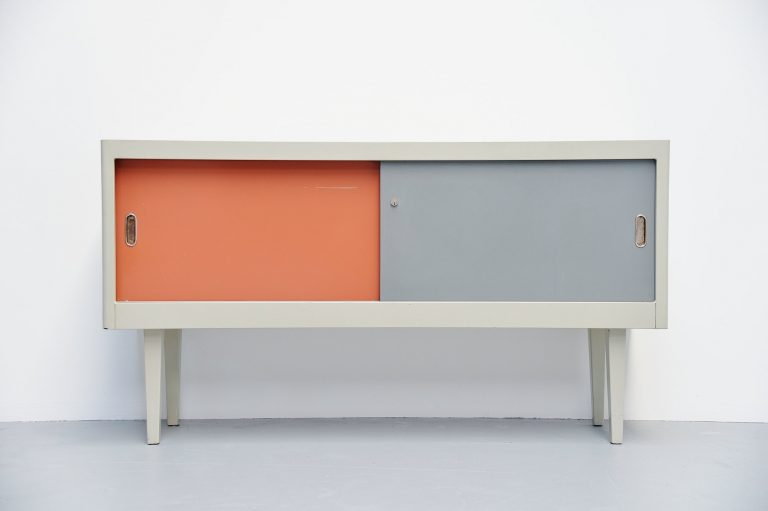 Ahrend industrial sideboard Holland 1960
