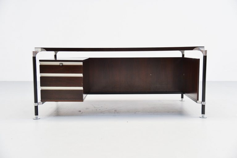 Ico Parisi MIM rosewood writing desk Italy 1960