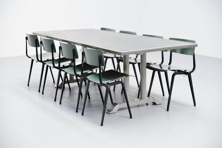 Ch Hoffmann industrial conference table Gispen 1949