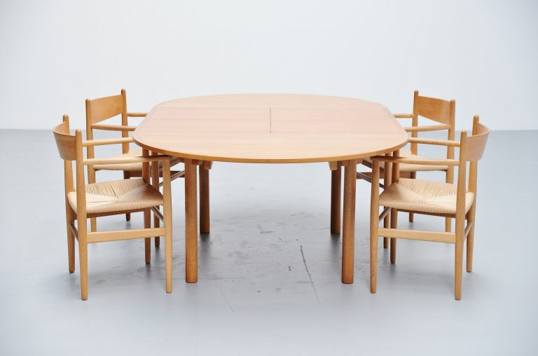 Borge Mogensen oak dining table Karl Andersson Denmark 1955