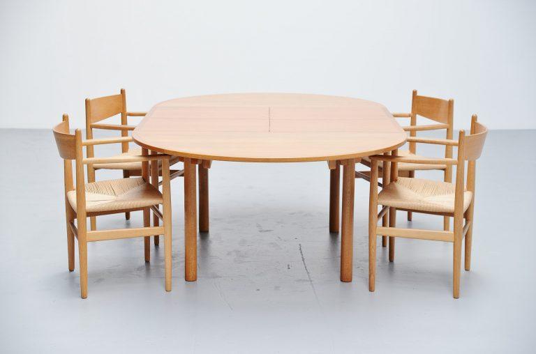 Borge Mogensen oak dining table Karl Andersson Denmark 1955