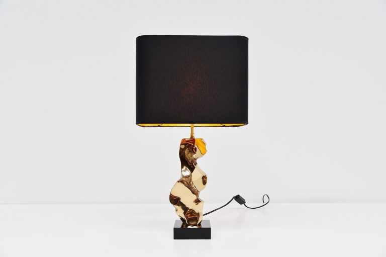 Michel Jaubert sculptural table lamp France 1970
