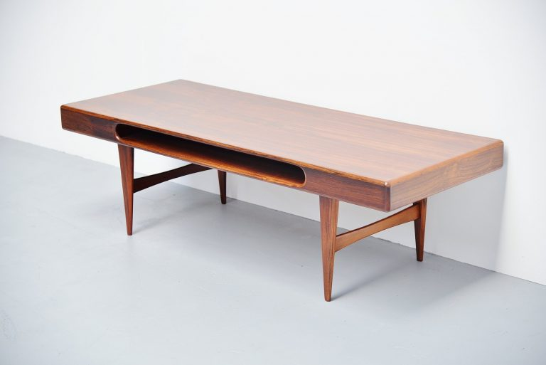 Danish rosewood console table 1960