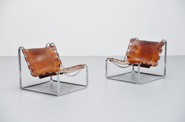 Pascal Mourgue Fabio lounge chairs Steiner 1970