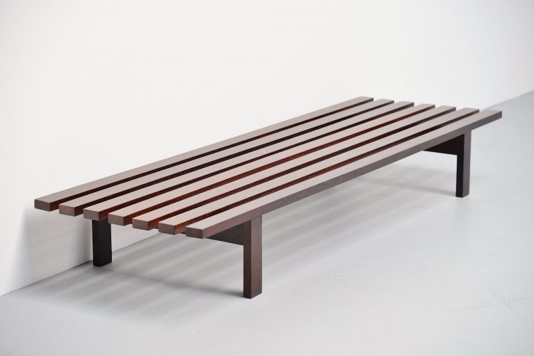 Martin Visser BZ82 slat bench 't Spectrum Holland 1965