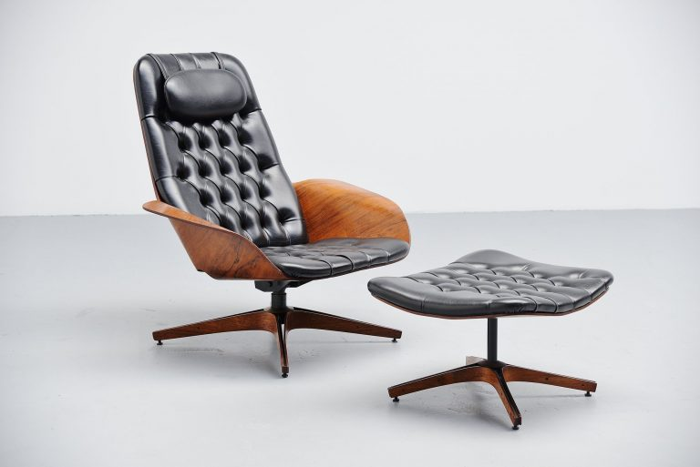 George Mulhauser plycraft lounge chair United States 1950