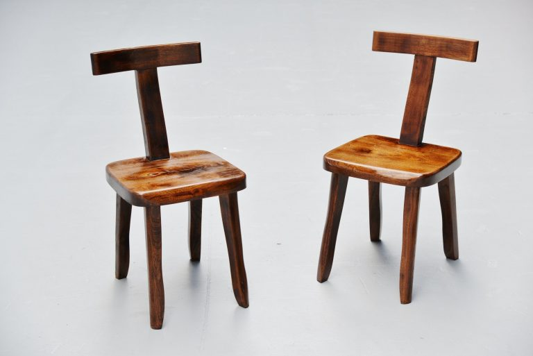 Olavi Hanninen side chairs Finland 1950