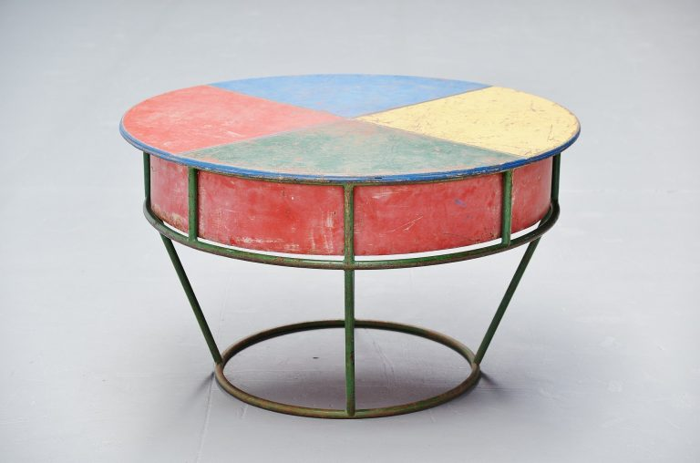 Playful garden table France 1950