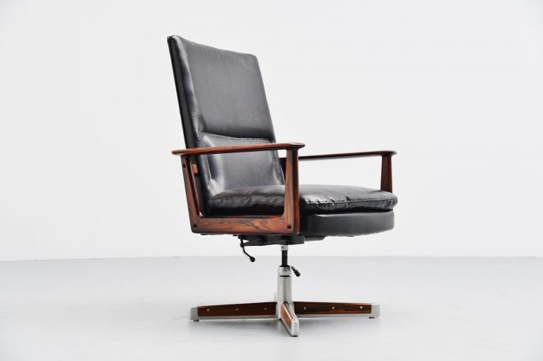 Arne Vodder 419 desk chair Sibast Mobler Denmark 1960
