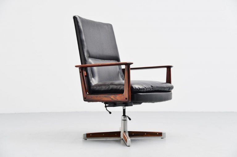 Arne Vodder 419 desk chair Sibast Mobler Denmark 1960