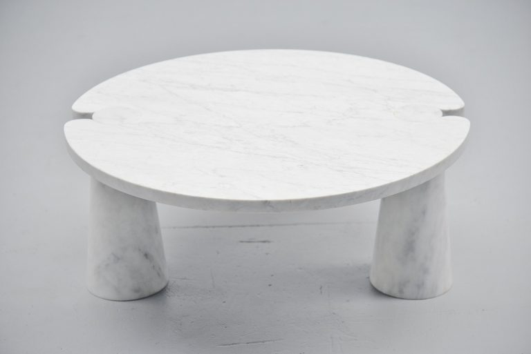 Angelo Mangiarotti Skipper marble coffee table Italy 1971