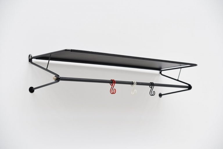 Mathieu Mategot coat rack black Artimeta Soest Holland 1960