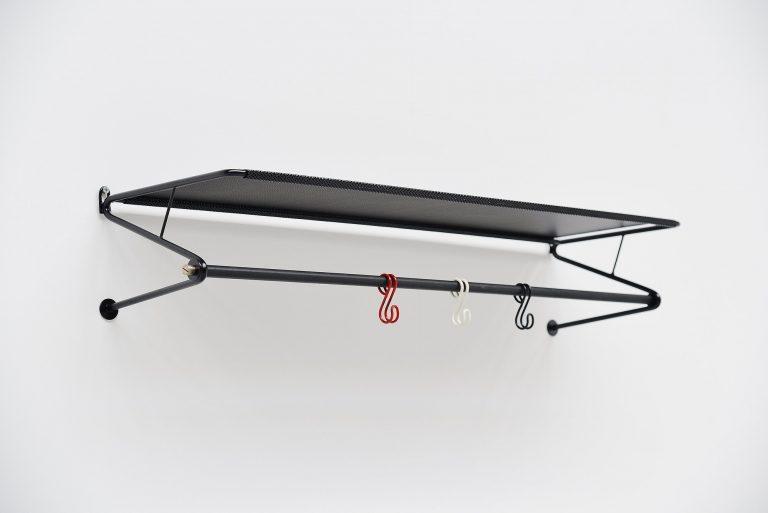 Mathieu Mategot coat rack black Artimeta Soest Holland 1960