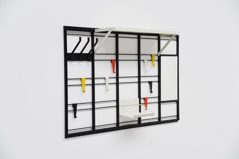 Tjerk Reijenga Pilastro coat rack Holland 1960