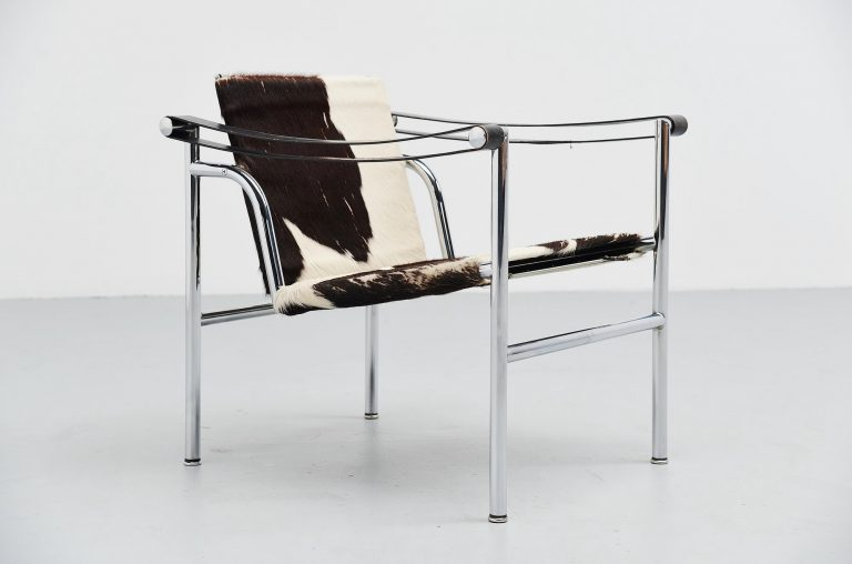 Le Corbusier Pierre Jeanneret LC1 early number Cassina 1960
