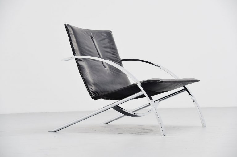 Paul Tuttle Arco lounge chair Strassle Switzerland 1976